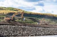 Site C Dam contruction.