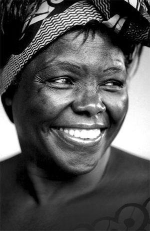 Dr Wangari Maathai Founder Green Belt Movement